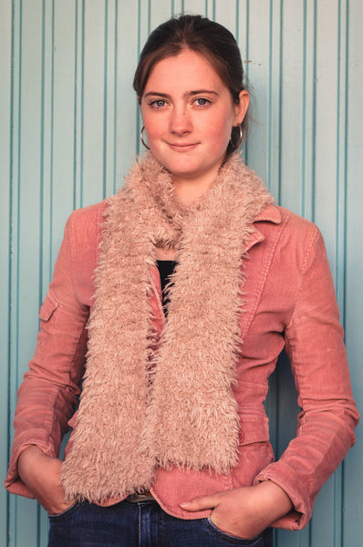 Bigfoot Fur Scarf PDF from Sweet Shop Patterns
