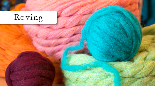 Browse Wool Roving