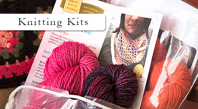 Browse Knitting Kits