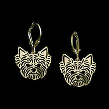 Beautiful Yorkshire Terrier Earrings Lovers' Jewelry Dog