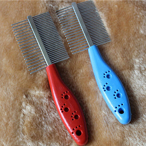 Stainless Steel Two-sized Dense Comb