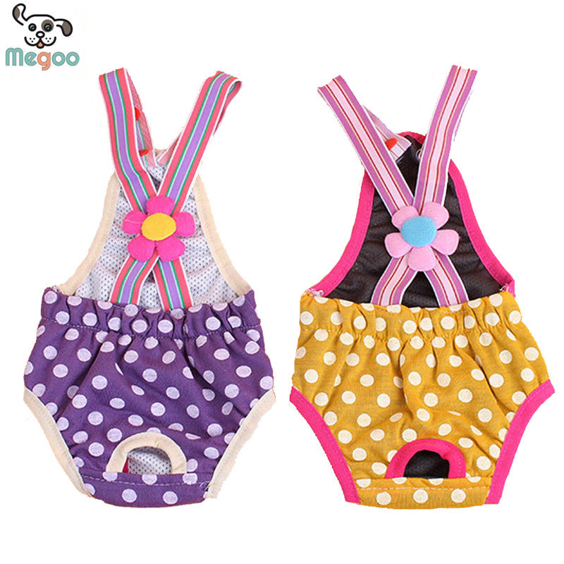 Patterned Strap Panties for Dogs