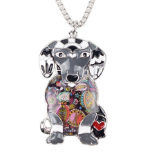 Beautiful Labrador Dog Necklace Chain Collar Choker Pendant