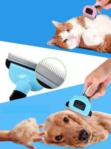 Combs Dog Hair Remover Cat Brush Grooming Tools Furmins Detachable Clipper Attachment Pet Trimmer Combs for Cat Pet Supply
