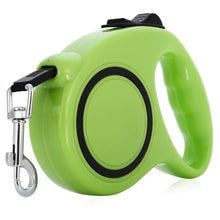 New Arrival 3m 5m ABS Nylon One-handed Lock Retractable Pet Leash Walking Dog Collar Training Lead for Puppy Cats 4 Colors