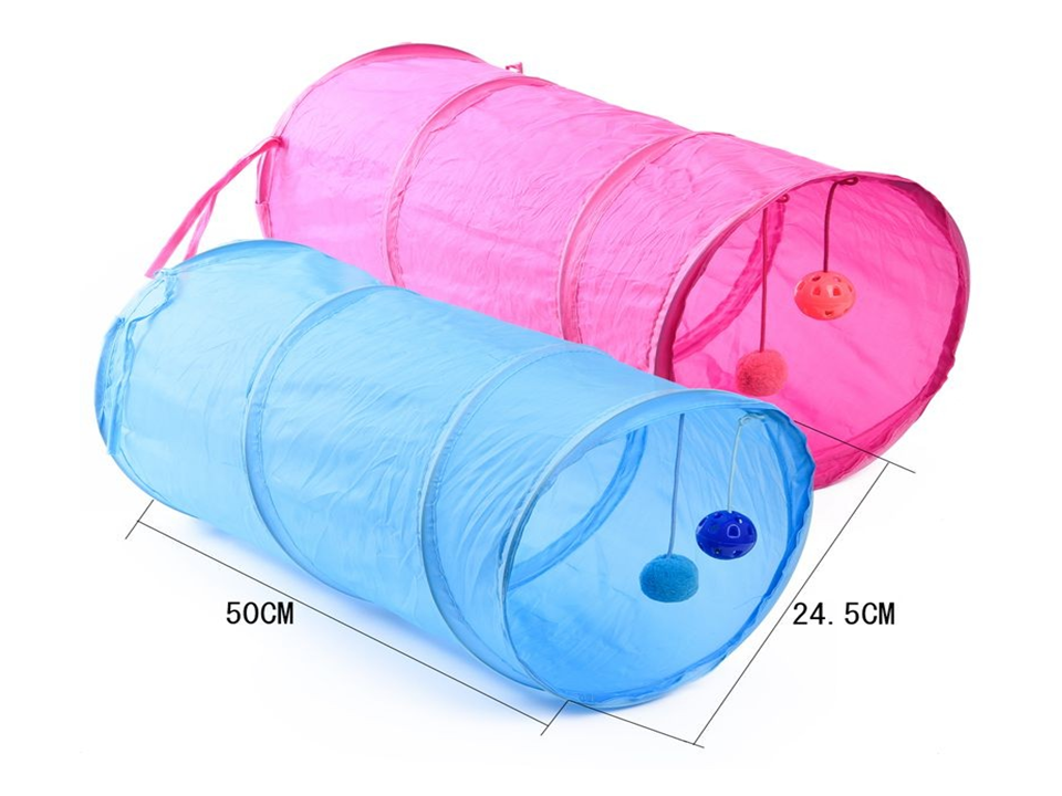 Fun, Exercise, Play time Pet Cat Play Tunnels