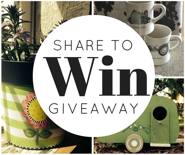 Share to Win Giveaway - Moss - Farm to Market Home - Bellevue NE