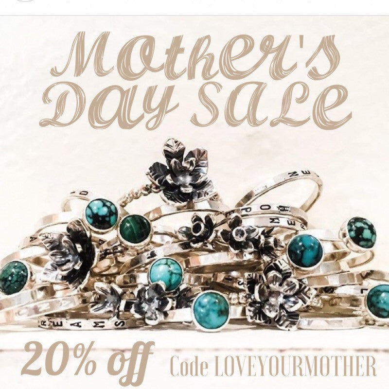 Celebrate Mother's Day with 20% off jewelry!