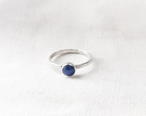 Copy of Aventurine Ring // Sterling SilverLapis Lazuli Ring // Sterling Silver