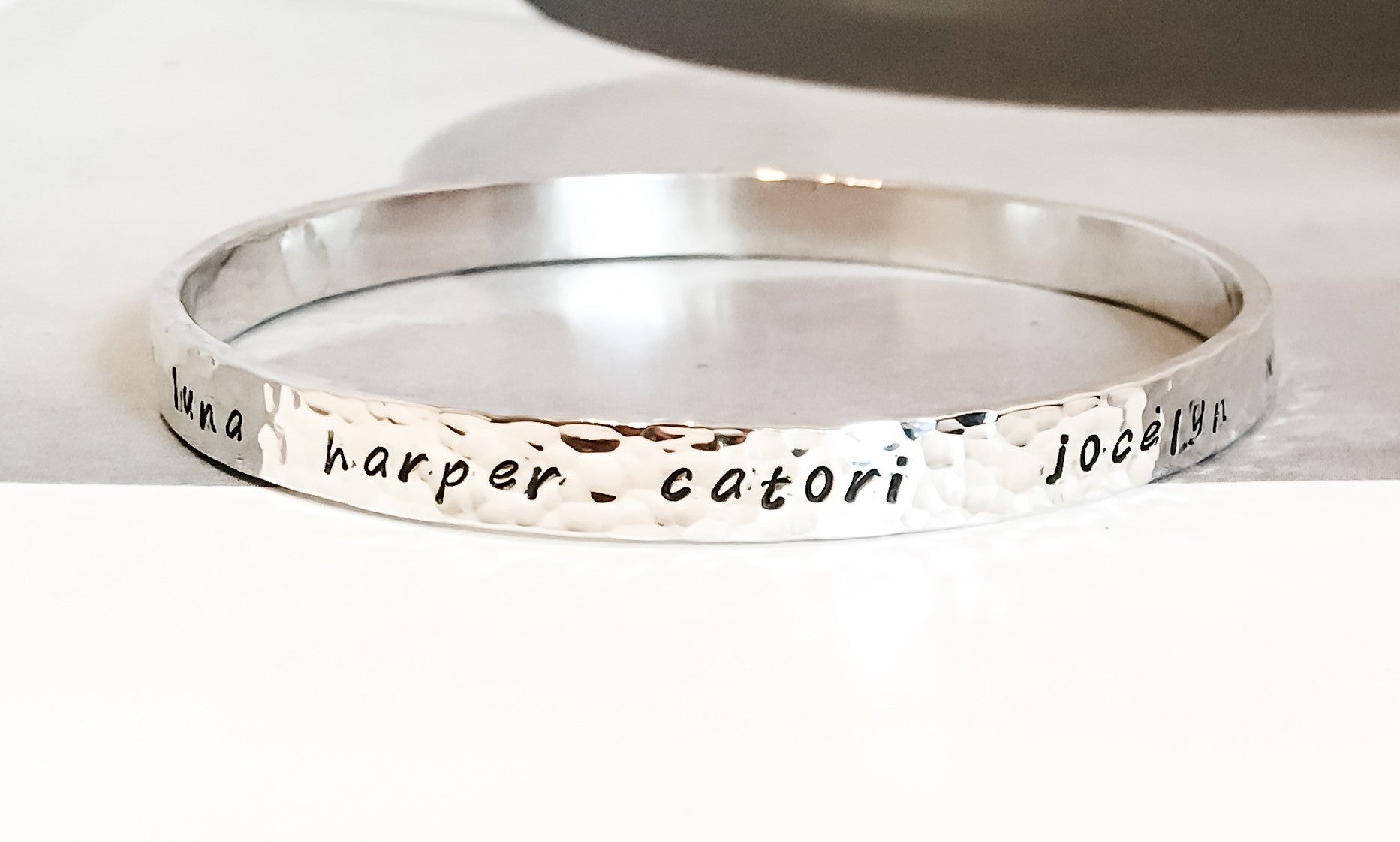 bangles personalized bracelets sterling silver products bracelet bangle img custom