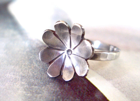 Fleurette Ring // Sterling Silver