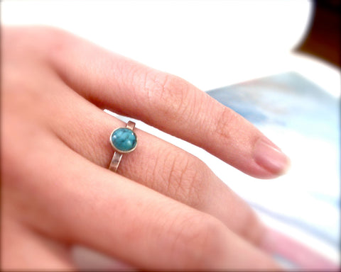 Turquoise Ring // Sterling Silver