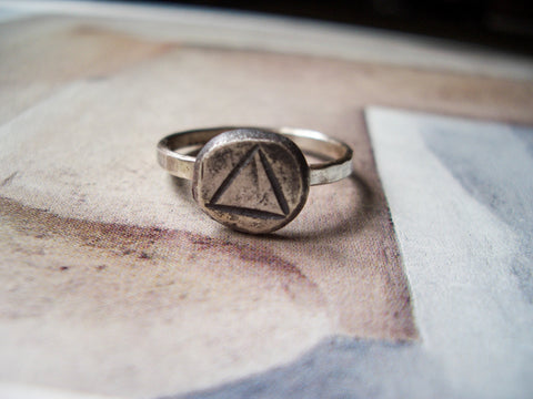 Triad Artifact Ring