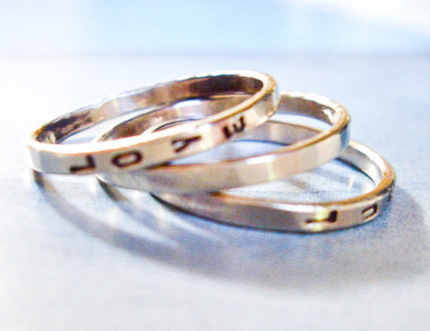 Wedding Bands With Birthstones 73 Great Three Stacking K White