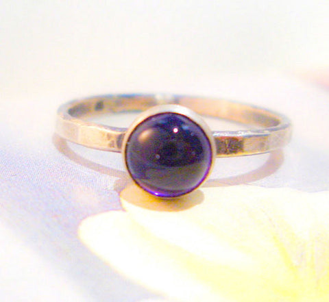 Amethyst Ring // Sterling Silver