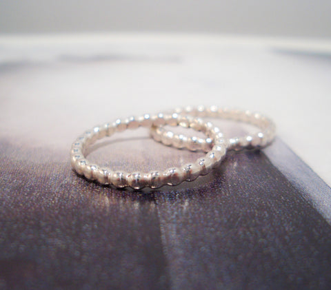 Circles Band // Sterling Silver