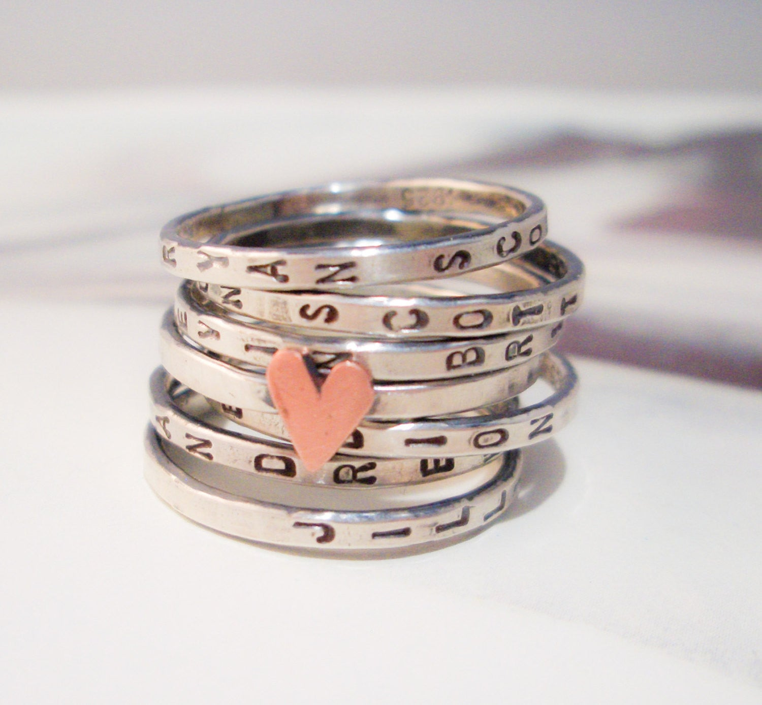 Personalized Wedding Ring Sets 30 Cool Wishing