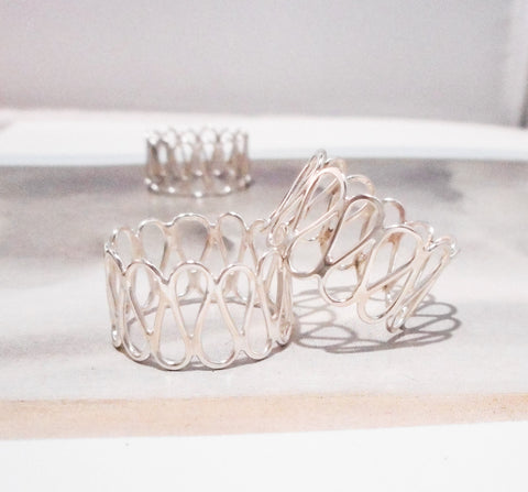 Filigree RIng, Sterling Silver