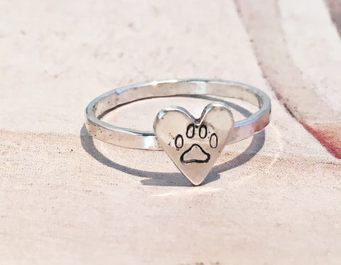 Puppy Love Ring // Sterling Silver