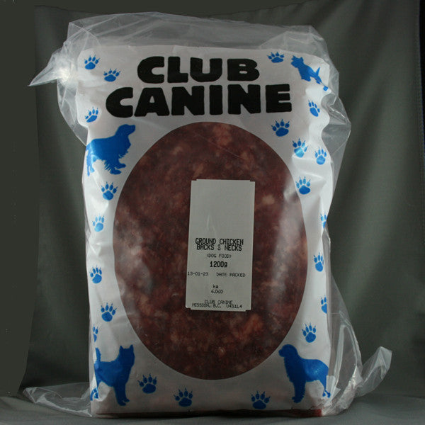 Club Canine - Ground Chicken Carcasses