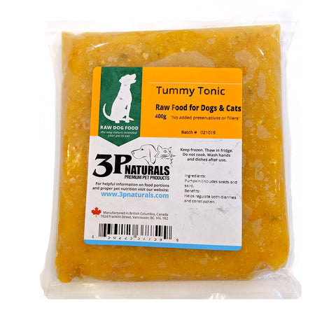 3P Naturals - Tummy Tonic - Ground Pumpkin 400g