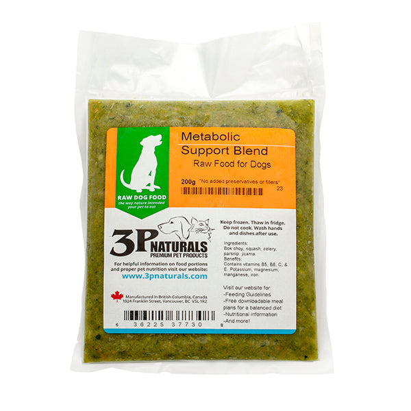 3P Naturals - Veggie  Metabolic Support Blend