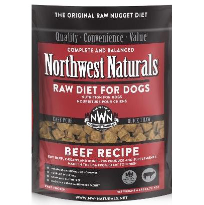 Northwest Naturals™ Beef Nuggets - Raw Diet for Dogs