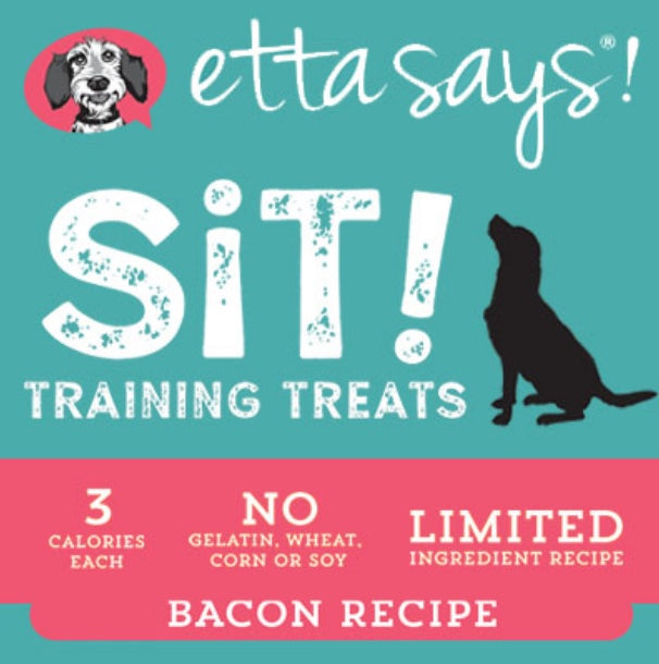Etta Says Sit - Bacon Soft Training Treats 6oz