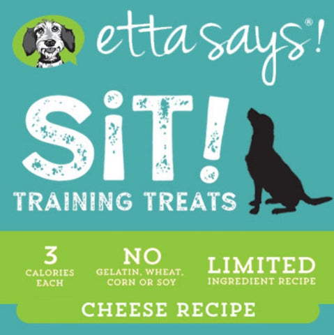 Etta Says Sit - Cheese Soft Training Treats 6oz
