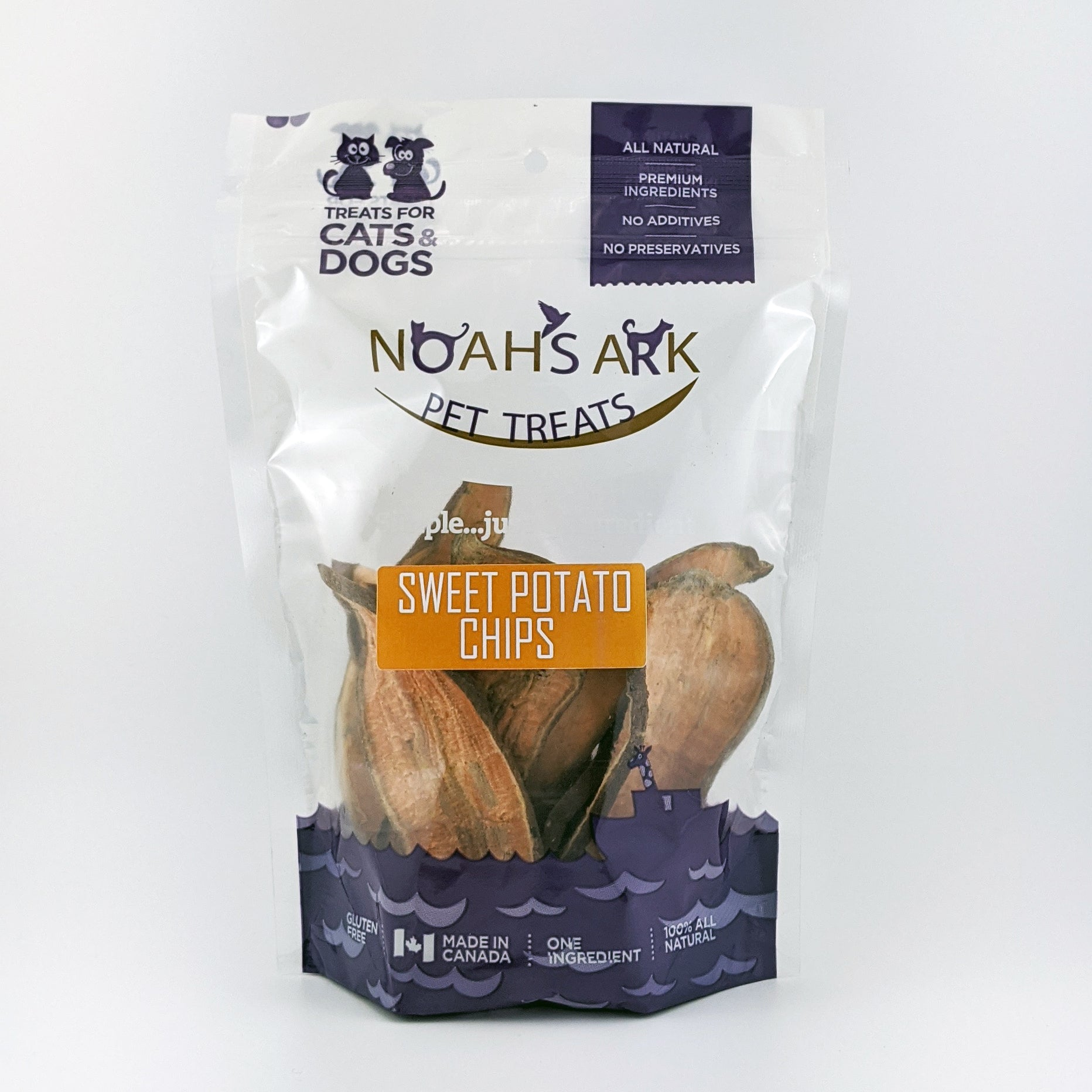 Noah's Ark - Dehydrated Sweet Potato Chips 100g