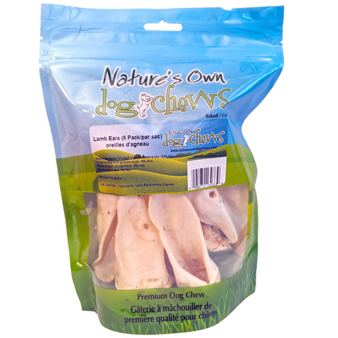 Nature's Own - Lamb Ears Chews 8 pack