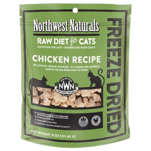 Northwest Naturals™ Chicken Nibbles - Freeze Dried for Cats