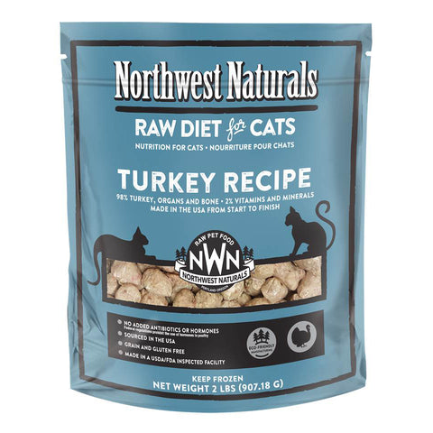 Northwest Naturals™ Turkey Nibbles - Raw Diet for Cats