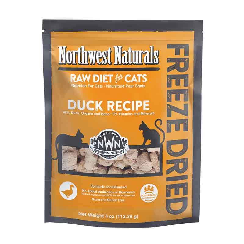 Northwest Naturals™ Duck Nibbles - Freeze Dried for Cats
