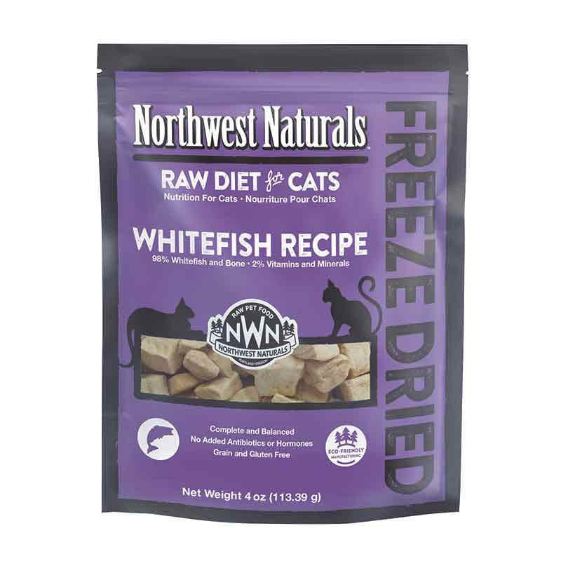 Northwest Naturals™ Whitefish Nibbles - Freeze Dried for Cats