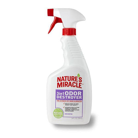 Nature's Miracle Unscented 3 in 1 Odor Destroyer