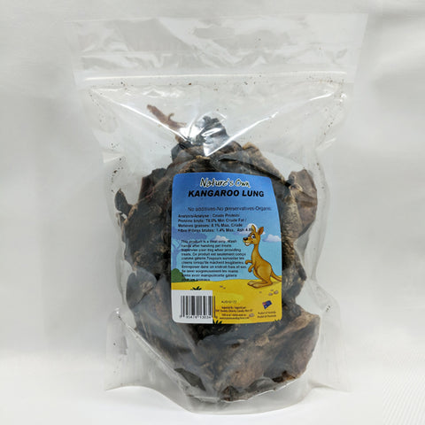 Nature's Own - Dehydrated Kangaroo Lung 227g