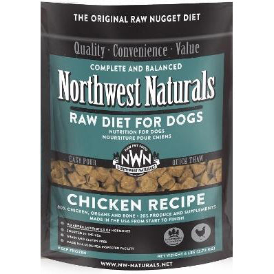 Northwest Naturals™ Chicken Nuggets - Raw Diet for Dogs