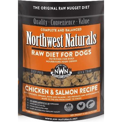 Northwest Naturals™ Chicken & Salmon Nuggets - Raw Diet for Dogs