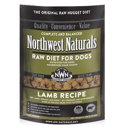 Northwest Naturals™ Lamb Nuggets - Raw Diet for Dogs