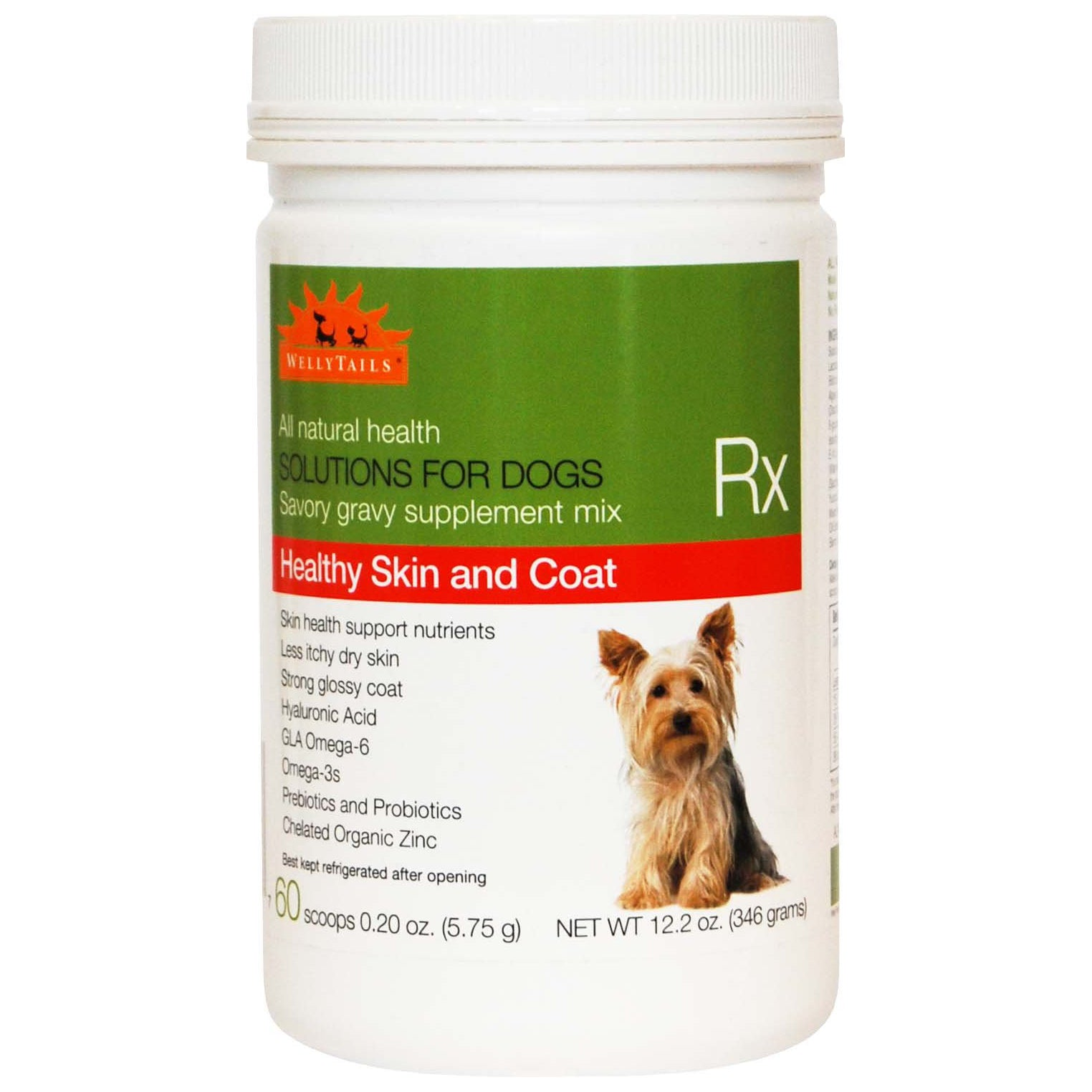 Wellytails - Healthy Skin and Coat