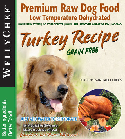 WellyChef - Turkey Dehydrated 4lb