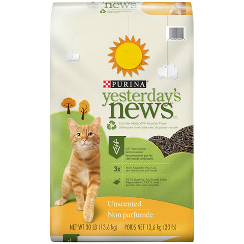 Yesterday's News Cat Littler - Regular Unscented 30lb