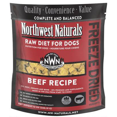 Northwest Naturals™ Beef Nuggets - Freeze Dried for Dogs