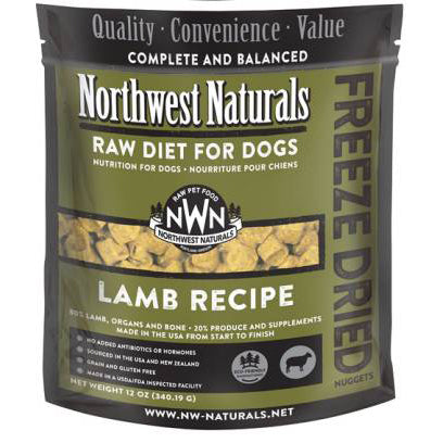 Northwest Naturals™ Lamb Nuggets - Freeze Dried for Dogs
