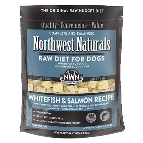 Northwest Naturals™ Whitefish & Salmon Nuggets - Freeze Dried for Dogs