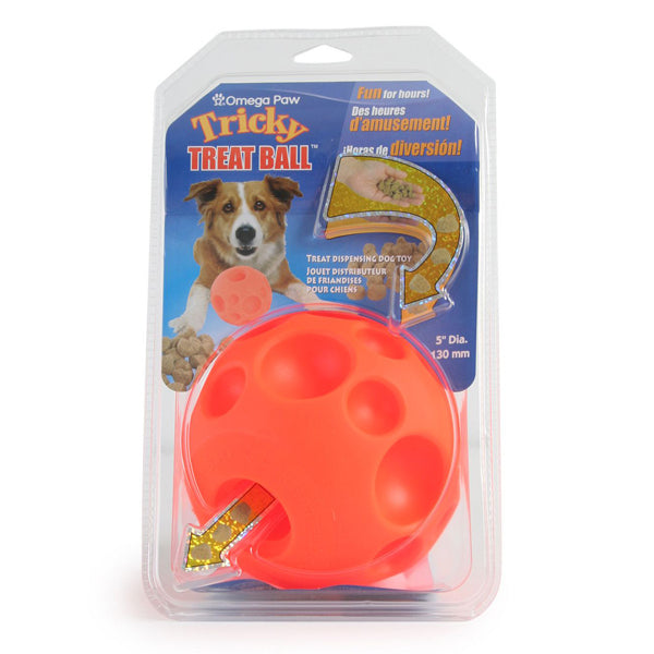 Omega Tricky Treat Balls for Dogs and Cats