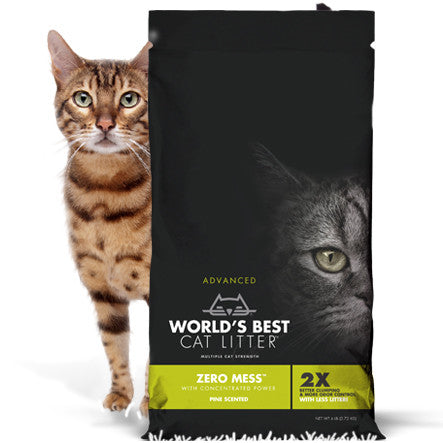 Worlds Best - Zero Mess Pine Scented Cat Litter