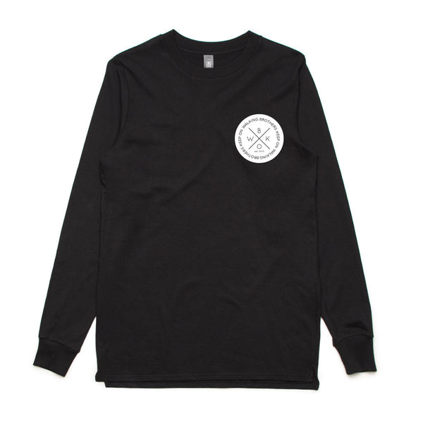 BKOW BASE LONG SLEEVE CIRCLE TEE