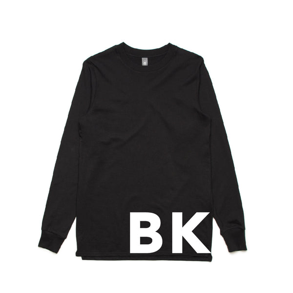 BASE LONG SLEEVE - BKOW SUPERSIZED WRAP TEE